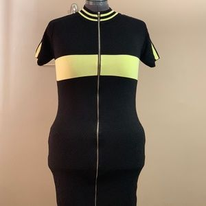 Fashion Nova zipper dress